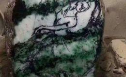 翡翠原石种水差?看雕刻师如何把它雕刻成精品