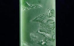 山水玉牌艺术创作:融入中国山水精神