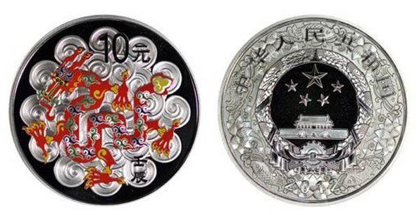 2012龙年银币10元价格及真假鉴别详解