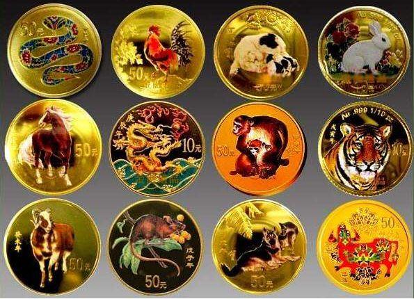 十二生肖金银币价格 附十二生肖金银币价格表
