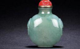 翡翠鼻烟壶为什么能成为海外文物收藏之一