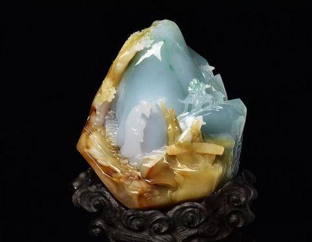 翡翠雕刻工艺从哪些方面体现中国玉雕的意境内蕴