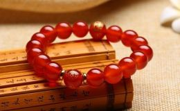 红玛瑙手链价格 天然玛瑙手链多少钱一串