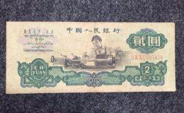 60版2元人民币的最新价格表