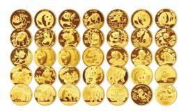 熊猫币大全套收藏价值