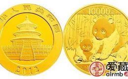 2012熊猫金币价格上涨幅度大,受到众多藏家关注