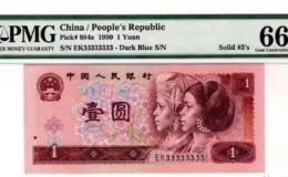 90版1元纸币最新价格