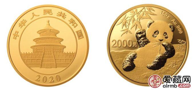 2020版熊貓金銀紀念幣圖案及規格發行量介紹