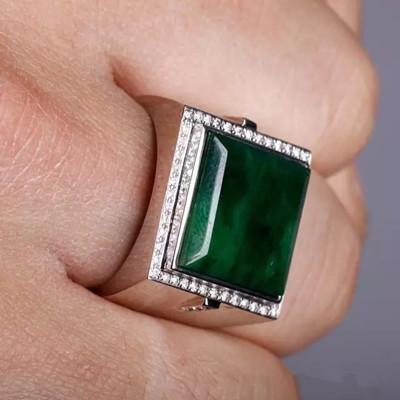 男士翡翠戒指款式 如何給男士挑選翡翠戒指
