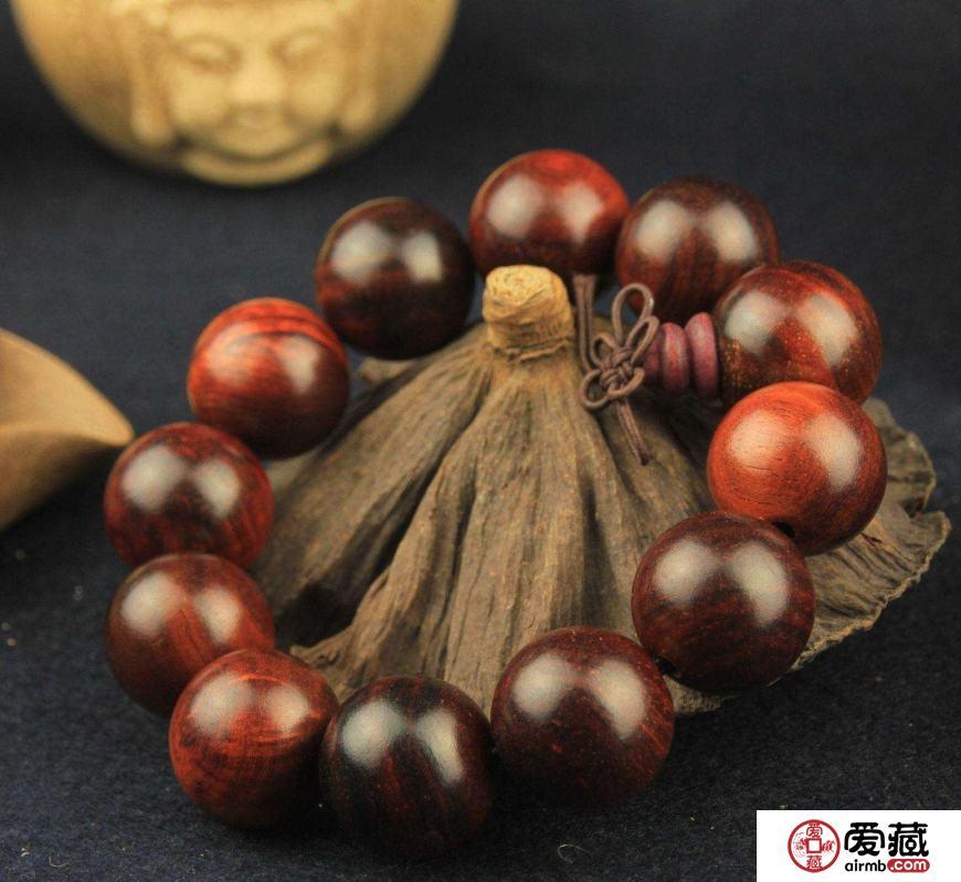 红木手串如何鉴别,红木手串包浆图片
