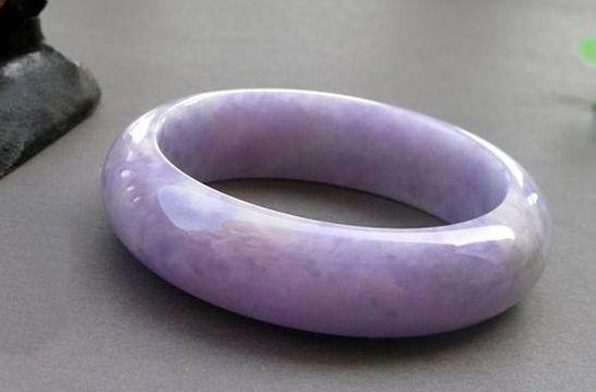 紫罗兰翡翠手镯价格是多少及图片