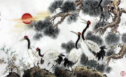 仙鹤图风水画挂在家里有什么禁忌?这几个属相的人就别挂了!