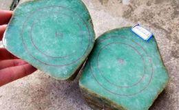 莫西沙翡翠原石的鉴别方法