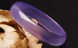 紫罗兰玉髓手镯价格及图片