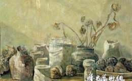 亚麻布上的空间建筑——杨明清油画作品展