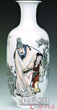 文人画瓷器正处于收藏市场最为繁盛的时代
