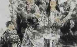 巫卫东的人物画