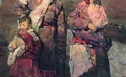 郭北平的油画艺术
