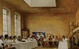 记中央美院第一届研修班画展