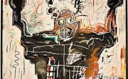 已故美国黑人艺术家巴斯奎特作品 水涨船高