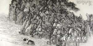 剖析麻明的中国画创作