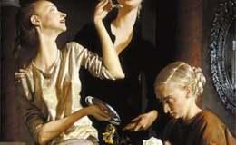 看美国当代画家约翰·柯林的绘画