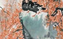 魏怀亮的花鸟画