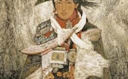 关于敬庭尧西藏题材绘画《山风》的思考