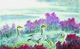 解读房企遐的中国画