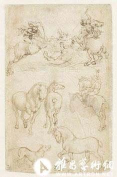 在素描和版画中诞生的文艺复兴