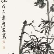 朱万章:水墨写意画与区广安的花卉画