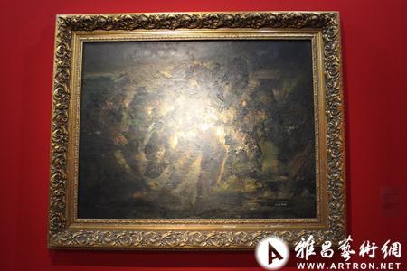 陈欣 《记忆系列》 布面油画