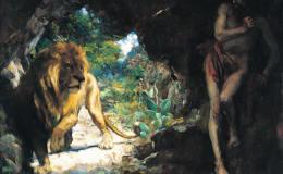 读徐悲鸿的《奴隶与狮》之后的思考:中国艺术中的古典主义