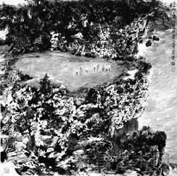 写实与写意:杨延文的山水画