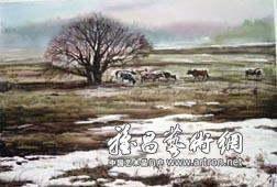 学者型画家的水彩画理论:评蒋跃的新著《中国当代水彩画研究》
