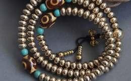 藏式銅佛珠手串多少錢,藏式銅佛珠手串價格與圖片