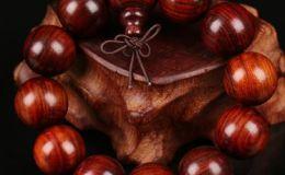 红酸枝手串如何鉴别,红酸枝手串包浆图片