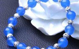 蓝玉髓手串有什么好处,蓝玉髓手串的功效与作用