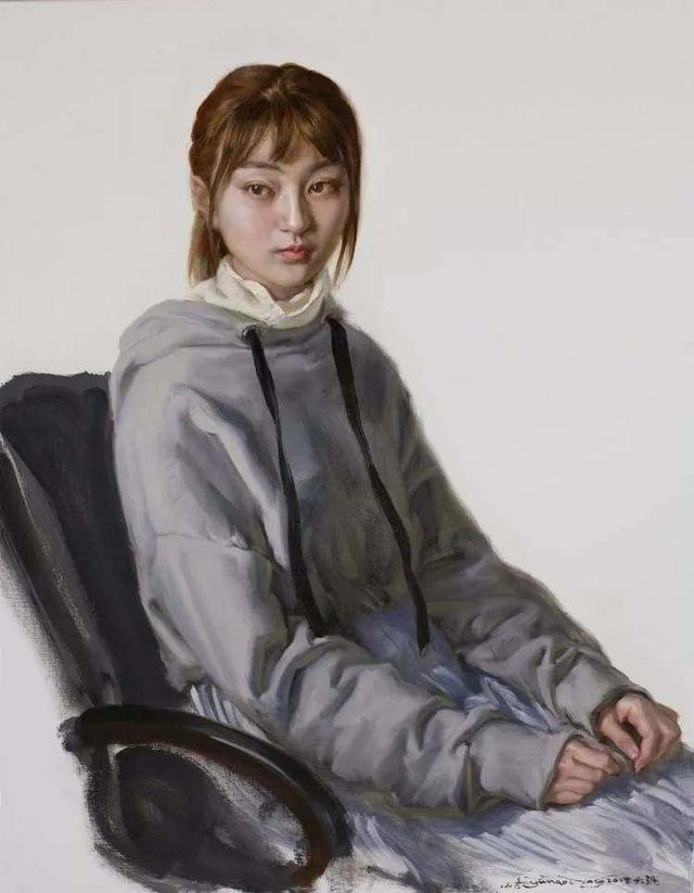 于小冬油画人物作品鉴赏,于小冬油画人物作品图片