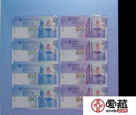 澳门奥运35连体钞   澳门奥运35连体钞值得收藏吗