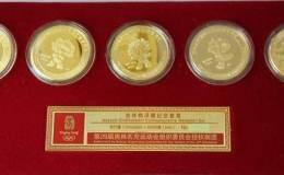 2008奥运5福娃金币价格  2008奥运5福娃金币多少钱
