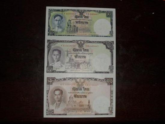 泰国三连体纪念钞价格   泰国三连体纪念钞值钱吗