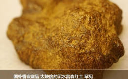 越南紅土沉香實物照片   越南紅土沉香特點