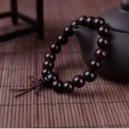 黑檀手串一般多少钱  鉴别黑檀手串