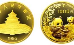 1995年12盎司熊猫金币价格图片