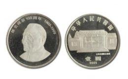 陈云诞辰100周年纪念币 单枚最新价格及图片