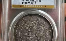 造币总厂光绪元宝库平七钱二分发行量 市价
