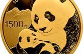 1988年版1/4盎司熊猫金币(精)