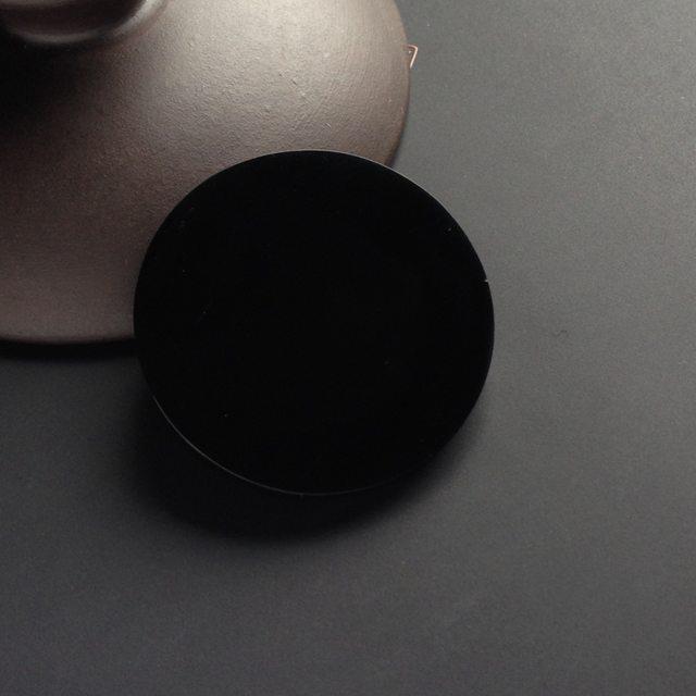 墨翠无事牌翡翠挂件 尺寸34-3.8毫米