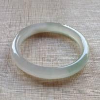 冰种起光翡翠贵妃镯 55-47-10-6.8mm
